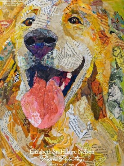 Paper Paintings - Animal Portraits