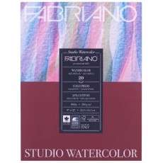 Fabriano Studio Watercolor 9X12 CP 200G