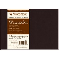 8x5.5 Strathmore Watercolor Art Journal  140lb