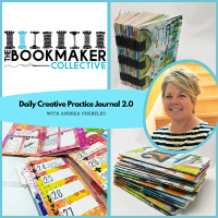 The Bookmaker Collective - Andrea Chebeleu- Daily Creative Practice Journal 2.0