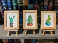 Mini Succulent Paintings